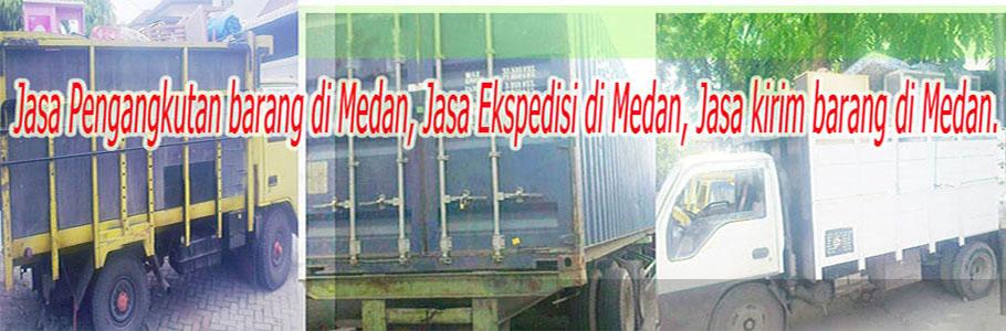 Jasa Pengangkutan di Medan, Jasa ekspedisi di Medan, Jasa kirim barang di Medan.