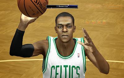 NBA 2K14 Rajon Rondo Cyberface Mod