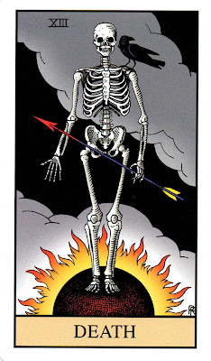Death - The Alchemical Tarot: Renewed by Robert M. Place