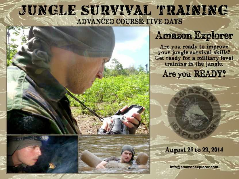 Amazon Explorer, Advanced Jungle Survival Training Course, Iquitos, Peruvian Amazon Rainforest