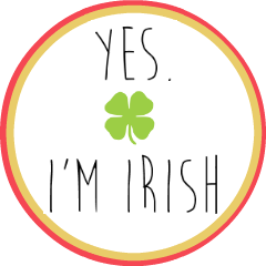 Yes I'm Irish