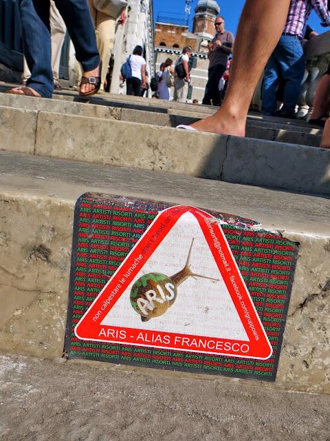 Alias francesco Venice sticker