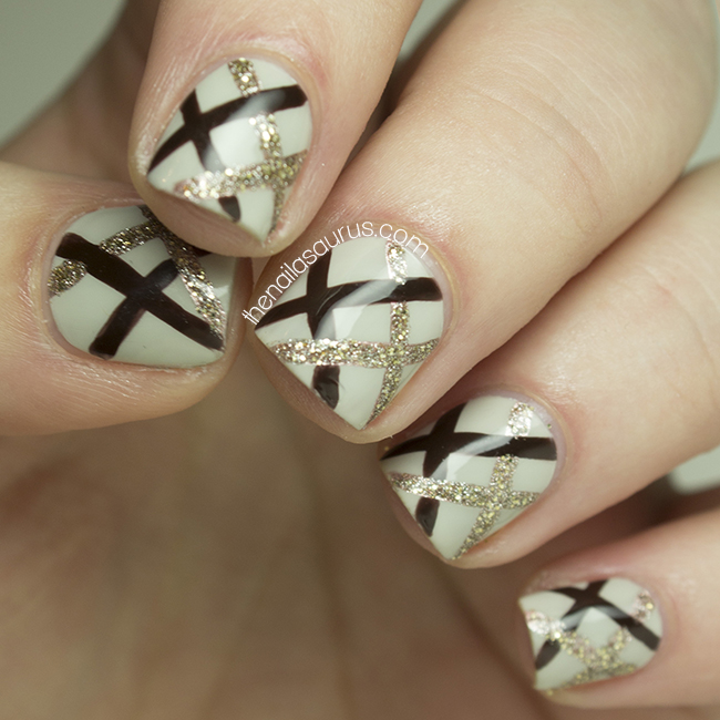 NYFW Nail Art: Nonoo AW14 Inspired - The Nailasaurus | UK Nail Art Blog