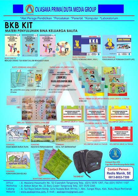 BKB KIT 2016 - Produsen & Distributor Produk DAK BKKBN 2016