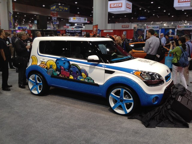 2012 kia soul inspired by michelle wie sema show 2011 live for Garage kia 95