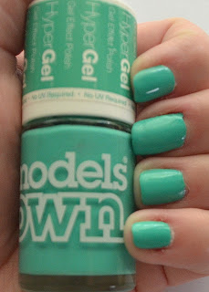 Models Own turquoise gloss hyper gel