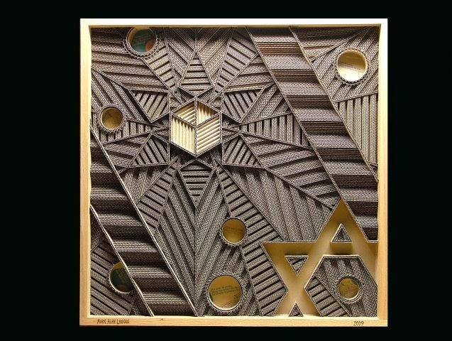Architectureyp Corrugated Art By Mark Langan