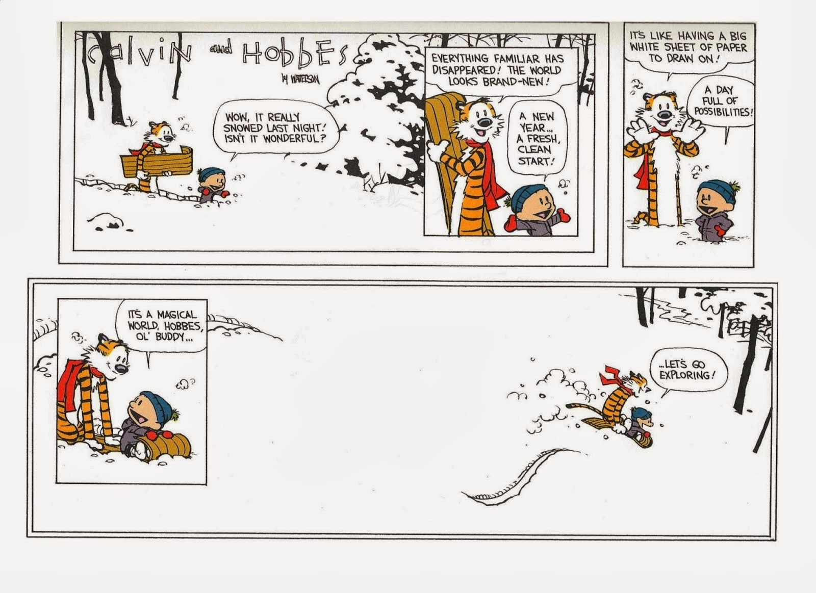 experimental theology search term friday calvin and hobbes let u0027s