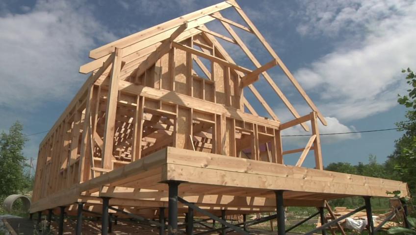 Технология строения каркасного дома
