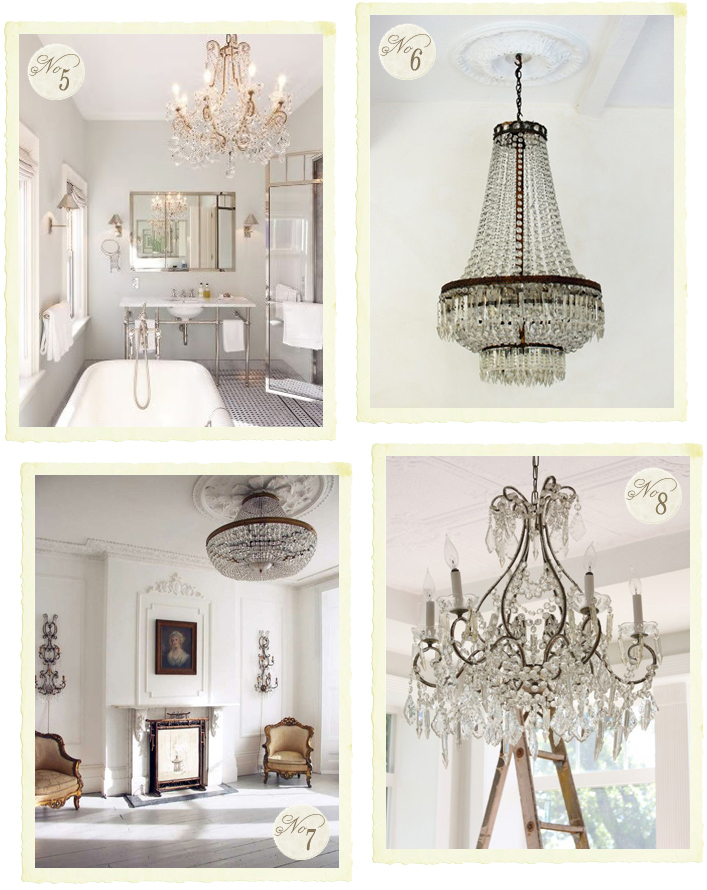 lampadario country chic : La luce in una stanza - Shabby Chic Interiors