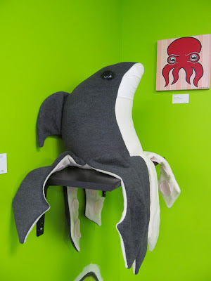Sharktopus at Artomatic, by Suzannah Eller