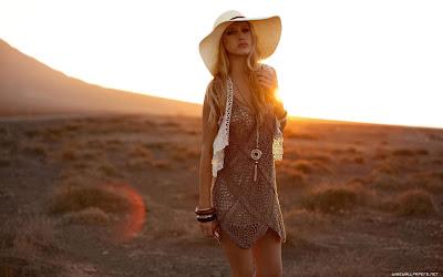 Girl Photography On Sunrise