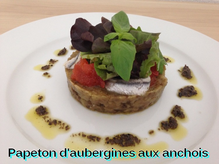 recettes principales papeton d 39 aubergines aux anchois. Black Bedroom Furniture Sets. Home Design Ideas