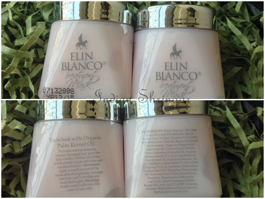 Elin Bianco Treatment Mask in Glam Guru beauty box