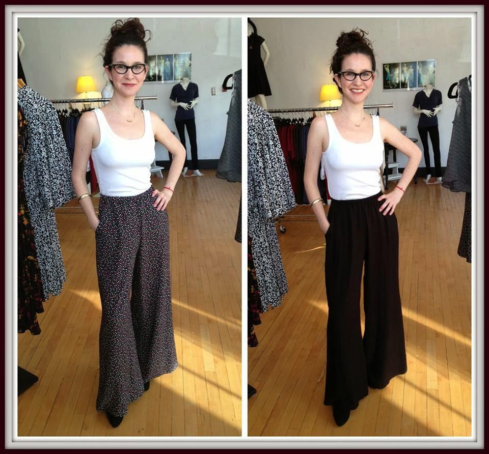 Gemma Palazzo pants by Sarah Bibb at Folly