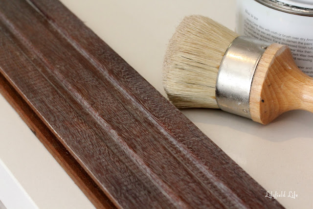 Tutorial for liming white wax wood