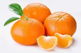 Mandarina para el colesterol