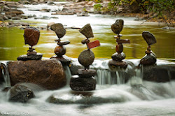 Stone Stacking Art