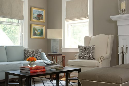 Taupe putty gray grey what content in a cottage for Taupe colors for walls