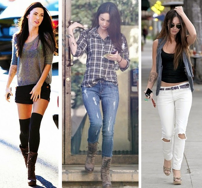 style crush megan fox edition tartan bones