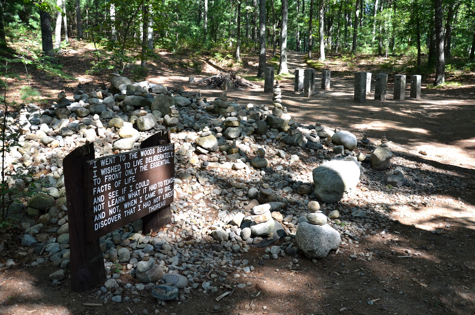 walden pond essays The answer is: [b]: reflective henry david thoreau's essay, walden, is a reflective essay the title comes from walden pond.