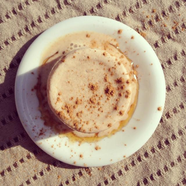 yaourt glacé cannelle miel