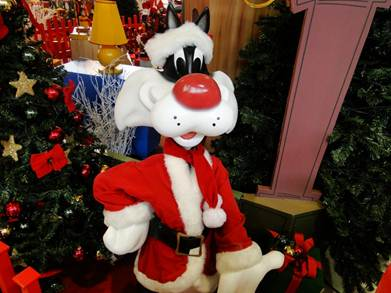 Looney Tunes encanta o Natal Musical do Bangu Shopping