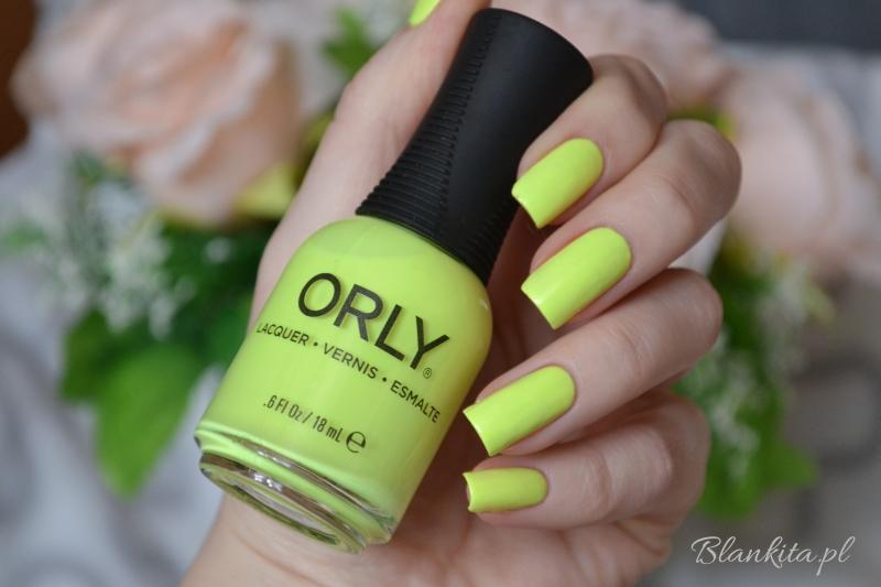 lakier do paznokci, limonka, neonowy lakier, limonkowy lakier, sugar high, kolekcja lakierów na wiosnę 2015, key lime twist, lakier orly limonkowy, orly beauty,