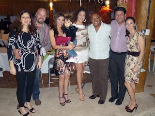 Toño Guerrero y esposa, Sara y Edgar Hendricks, Agustín Lara y