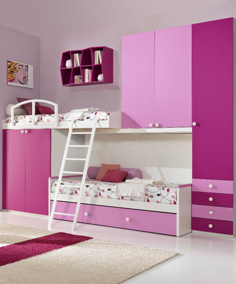 Idea muebles juegos de cuarto infantiles y juveniles for Ideas muebles
