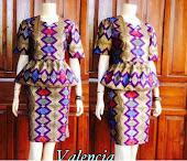 Dress Batik Solo  DB 5063