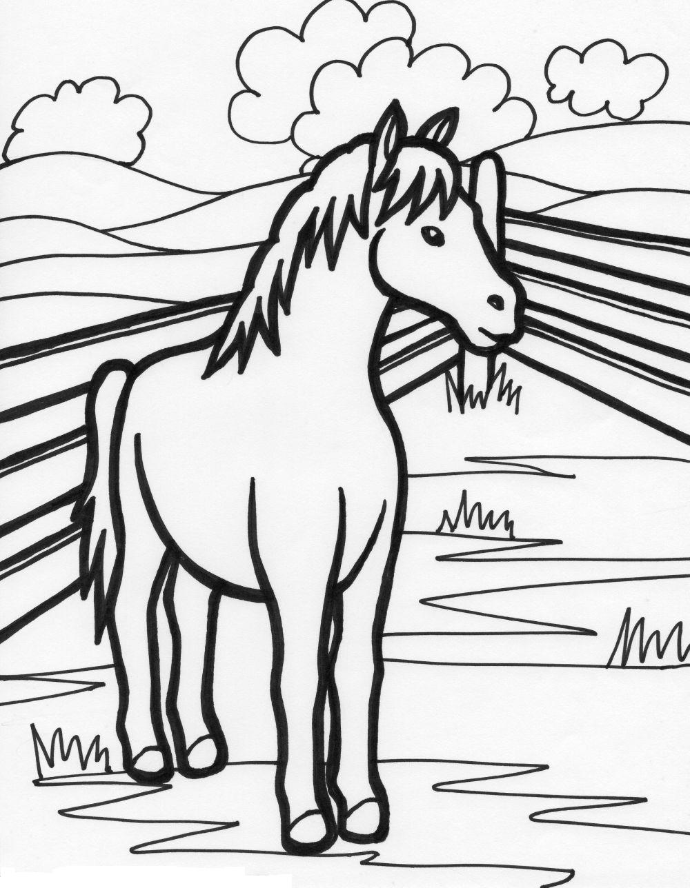 Spring animal coloring pages - Coloring Pages Of Farm Animals For Preschoolers Farm Coloring Pages For Toddlers Farm Animals Free