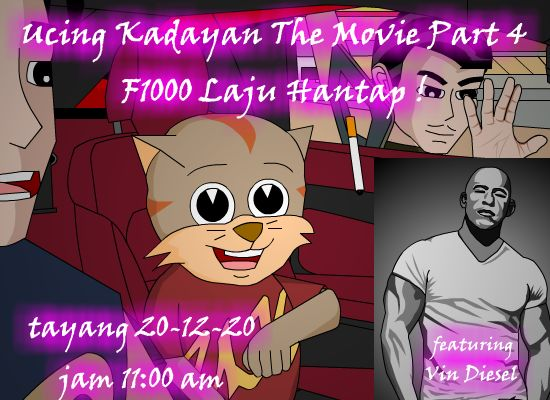 Ucing Kadayan The Movie Part 4 Mula Di Tayangkan.Sila like & Komen ya.
