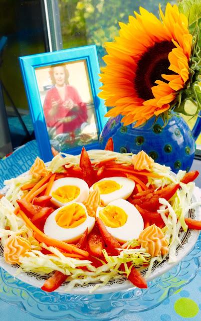 Fanny Cradock Egg Salad