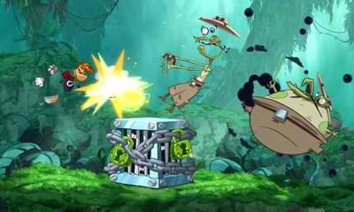 Rayman Origins 3DS Demo