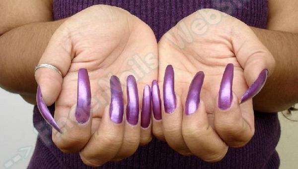 femdom wife long nails