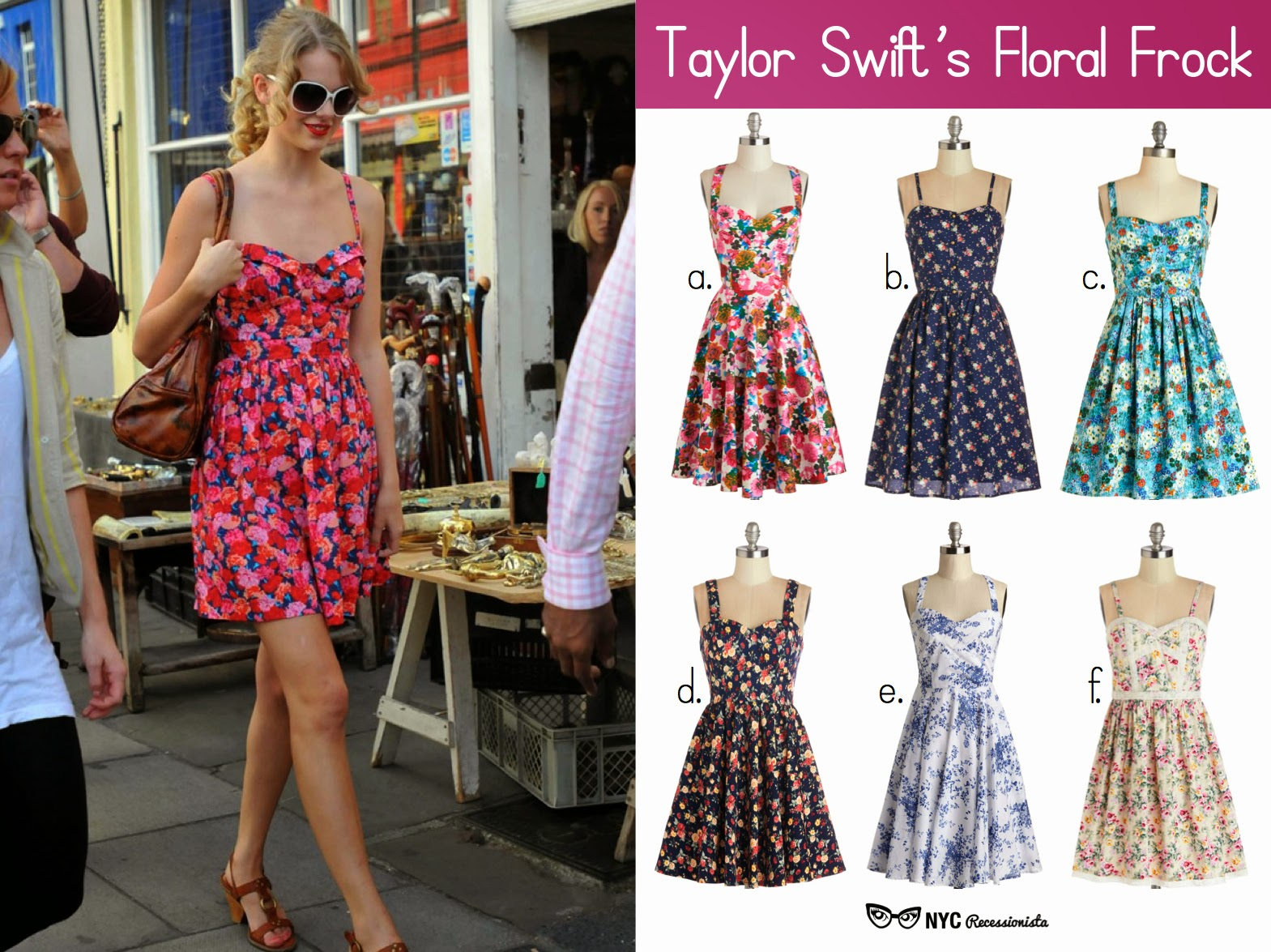 NYC Recessionista Affordable Alternatives Taylor Swifts