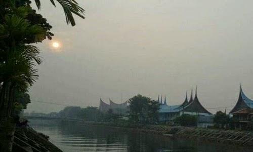 Udara di Kota Padang Mulai Tak Sehat