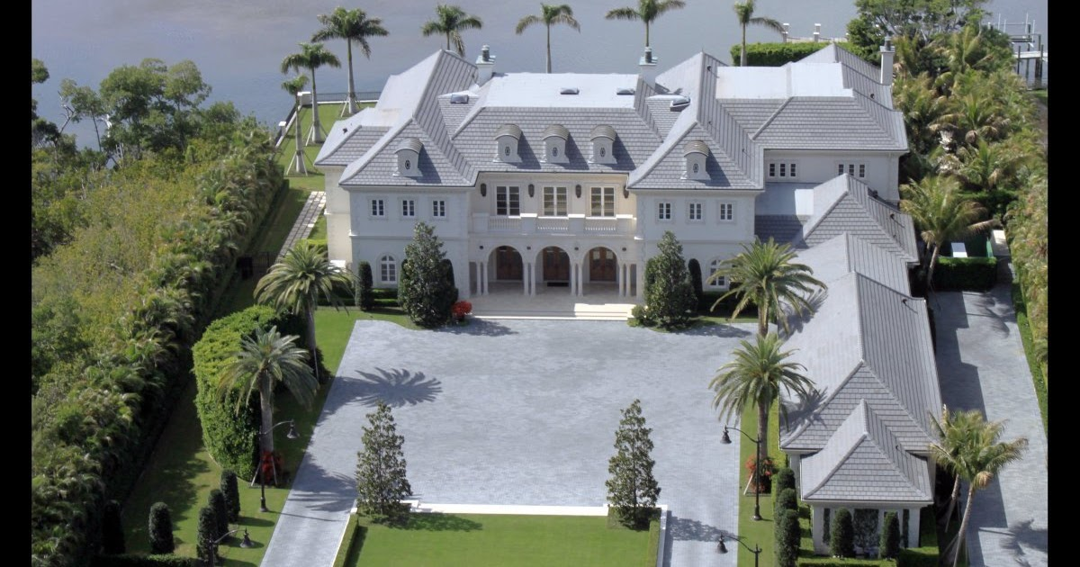 homes of the rich and famous incredible palm beach estate. Black Bedroom Furniture Sets. Home Design Ideas