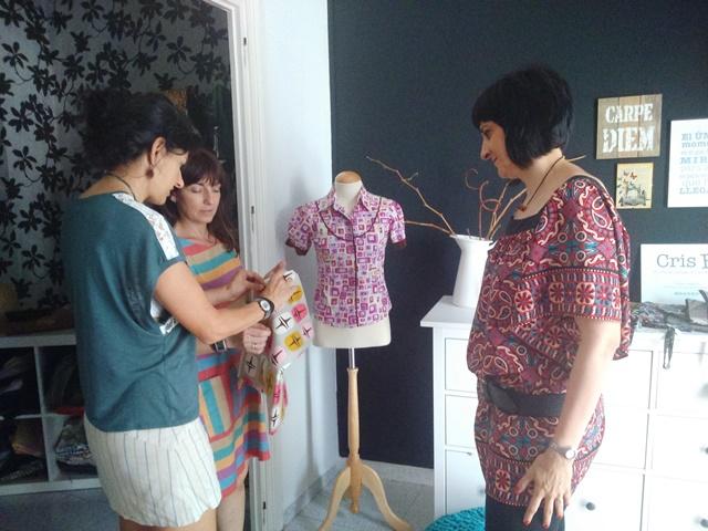 taller reciclaje creativo, moda sostenible, ocio singular, ociosingular, talleres, crisb