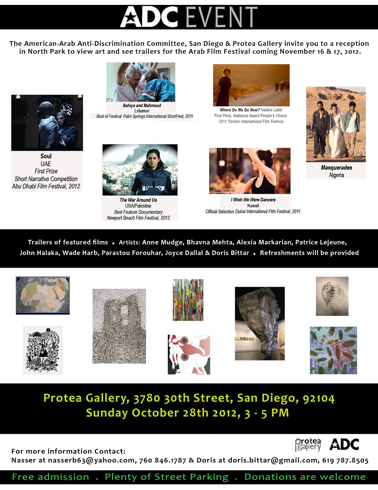 Patrice Lejeune Group Show At Protea Gallery