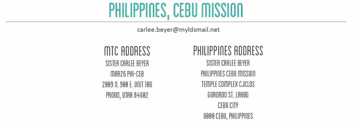 Philippines Cebu Mission