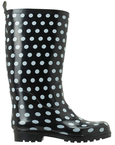 Rain Boots Polka Dots5