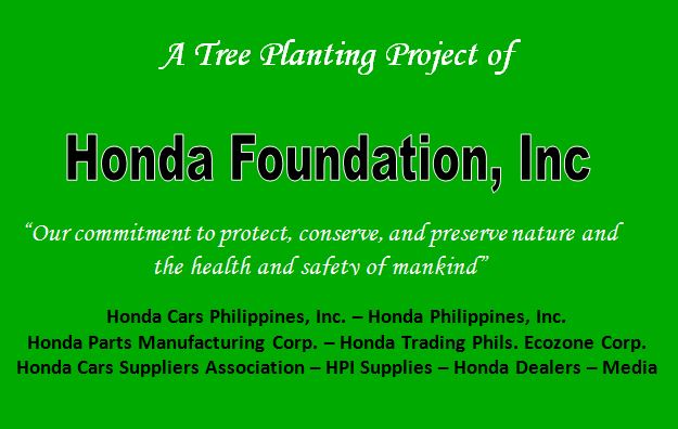 Honda Plants 5,000 Trees in Rizal, Laguna