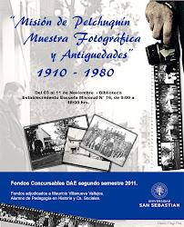 Misión de Pelchuquín: Muestra fotográfica y de antigüedades 1910-1980. (Exposición año 2011)