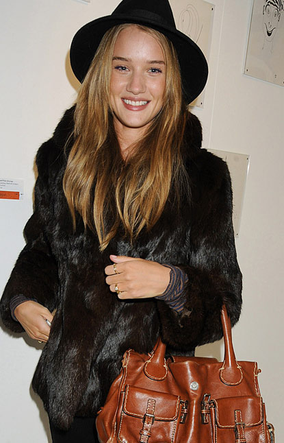 rosie huntington whiteley hair color. month holidayquot; ombre hair.