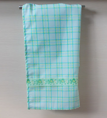 ręcznik kuchenny w kratkę