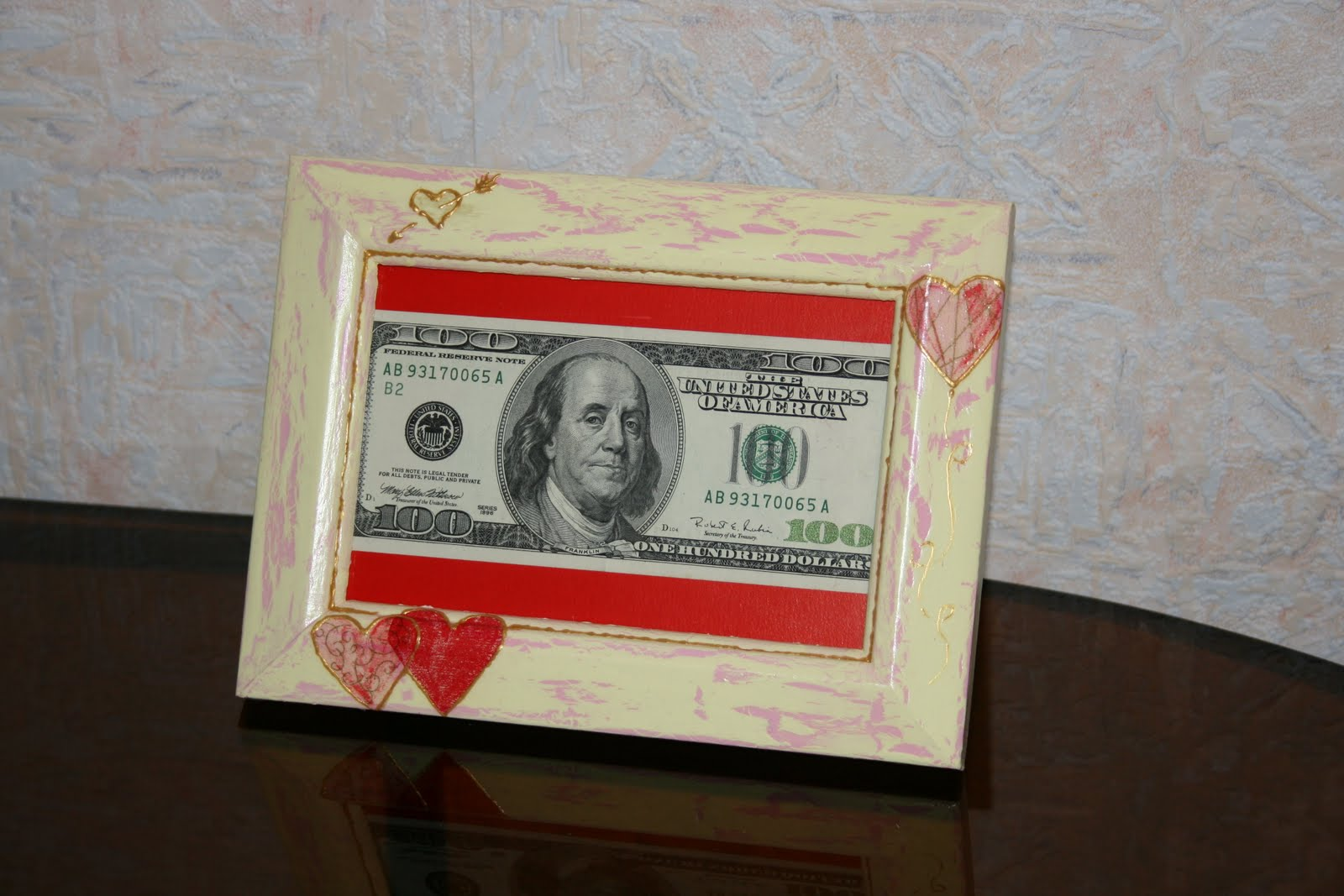 Фото деньги в рамках на свадьбу
