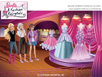 Barbie without