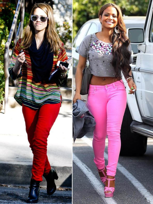 Cool Skinny Jeans For Women In Blanco Denim AutumnWinter 20122013 8